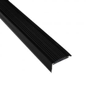 trapprofiel zwart 270 cm - 5 stuks